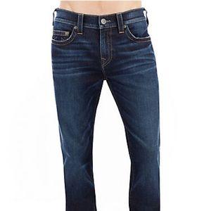 True religion men's jeans, relaxed skinny